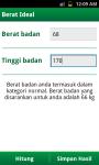 Kalkulator Sehat screenshot 3/6
