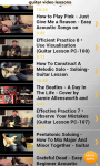 Guitar Video Lessons free screenshot 2/4