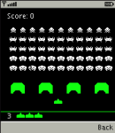 Q-SpaceInvaders screenshot 1/1