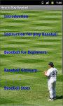 How To Play Baseball screenshot 3/4