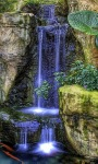 Blue Magic Waterfall Live Wallpaper screenshot 1/3