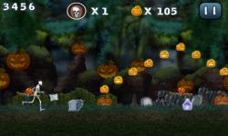 Halloween Jungle Run J2ME screenshot 2/5