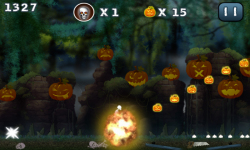 Halloween Jungle Run J2ME screenshot 3/5