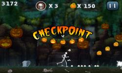 Halloween Jungle Run J2ME screenshot 5/5