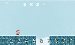 Times Tables Endless Runner Christmas Edition screenshot 2/3