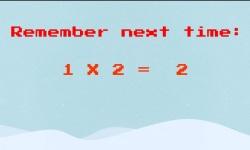 Times Tables Endless Runner Christmas Edition screenshot 3/3