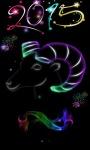 Colorful New Year Live Wallpaper screenshot 2/3