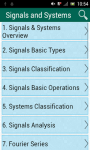 Signals and Systems screenshot 1/3