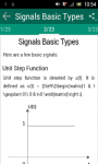 Signals and Systems screenshot 2/3