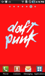 Daft Punk Colorful Live Wallpaper screenshot 1/3