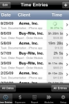 Time Master + Billing screenshot 1/1
