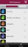 SMS Ringtones 2014 screenshot 2/4