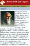 RavindraNath Tagore screenshot 3/3