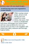 Precaution while using Contact Lenses screenshot 3/3
