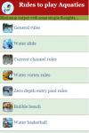 Rules to play Aquatics screenshot 3/4