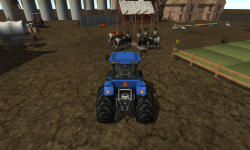 Farm Tractor Driver 3D Parking screenshot 1/6