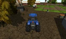 Farm Tractor Driver 3D Parking screenshot 3/6