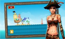 Caribbean Sea Pirates - A revenge battle for gold  screenshot 4/5