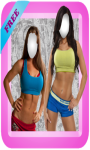 Fitness Girls Photo Montage screenshot 1/6
