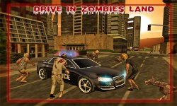 Police Driver vs Zombies screenshot 1/4