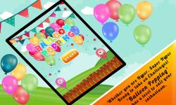 Balloon Popping For Kids Pop screenshot 5/5