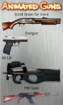 Animated Guns Free screenshot 1/4