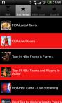 NBA Scores NBA Standings and NBA News screenshot 3/3