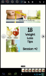 FREE 18 Weight Loss Tips Session 2 screenshot 1/6