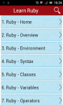 Learn Ruby screenshot 2/3