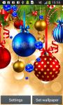Xmas Ornaments Live Wallpapers screenshot 3/6
