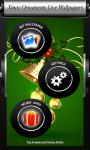 Xmas Ornaments Live Wallpapers screenshot 6/6
