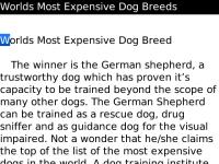 Worlds Most Expensive Dog Breeds screenshot 2/2
