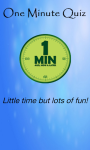 One Minute Quiz Free screenshot 1/6