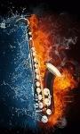 Saxophone Music Live Wallpape screenshot 2/3