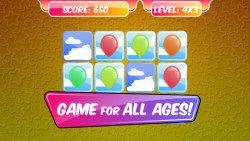 Kids Memory Game – Balloons screenshot 1/3