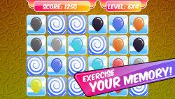 Kids Memory Game – Balloons screenshot 2/3