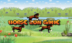 Horse Run Casual Action game free screenshot 1/4