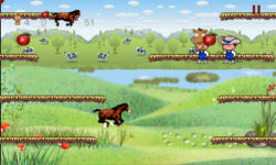 Horse Run Casual Action game free screenshot 3/4