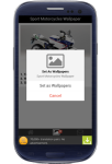 sport motorcycles wallpaper screenshot 4/6