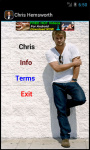Chris Hemsworth HD Wallpaper screenshot 2/3
