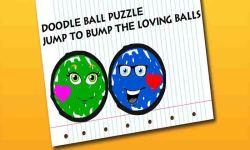 Doodle Ball Puzzle - Jump to Bump the Loving Balls screenshot 4/6