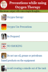 Precautions while using Oxygen Therapy screenshot 2/3