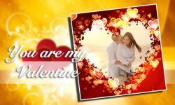 Valentine Photo Frame Love Collage screenshot 2/6