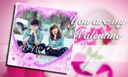 Valentine Photo Frame Love Collage screenshot 3/6