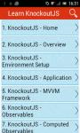 Learn KnockoutJS screenshot 1/3