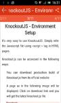 Learn KnockoutJS screenshot 2/3