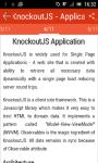 Learn KnockoutJS screenshot 3/3