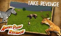 Angry Deer Revenge 3D Attack screenshot 1/6