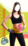 Fitness Girl Photo Suit Editor screenshot 3/6