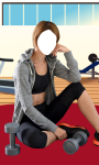 Fitness Girl Photo Suit Editor screenshot 6/6